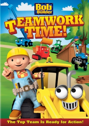 Bob the Builder: Teamwork Time - DVD cover (thumbnail)