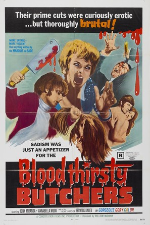 Bloodthirsty Butchers - Movie Poster (thumbnail)