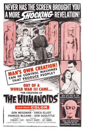 The Creation of the Humanoids - Movie Poster (thumbnail)