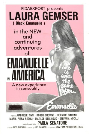 Emanuelle In America - Movie Poster (thumbnail)