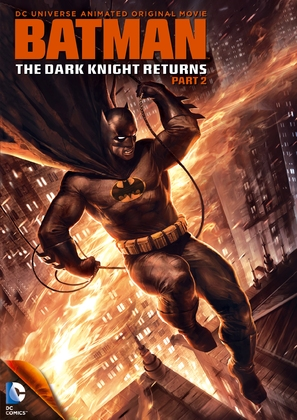 Batman: The Dark Knight Returns, Part 2 - DVD cover (thumbnail)