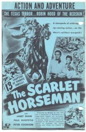 The Scarlet Horseman - Movie Poster (thumbnail)