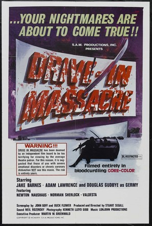 Drive in Massacre - Movie Poster (thumbnail)