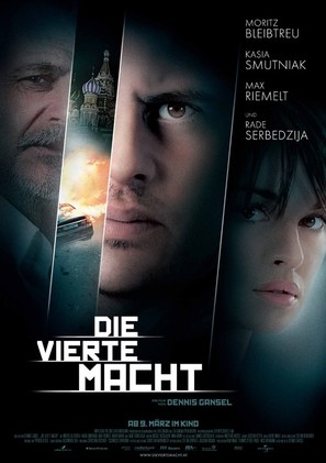 Die vierte Macht - German Movie Poster (thumbnail)