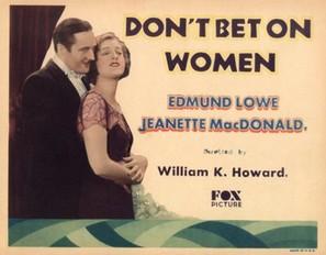 Don't Bet on Women - Movie Poster (thumbnail)