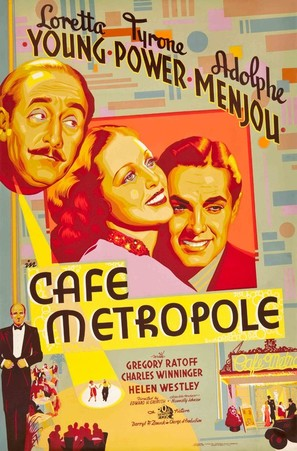 Café Metropole - Movie Poster (thumbnail)