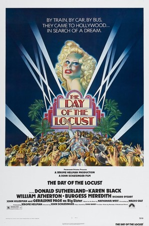 The Day of the Locust - Theatrical movie poster (thumbnail)