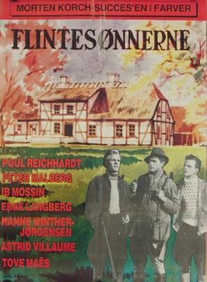 Flintesønnerne - Danish Movie Poster (thumbnail)