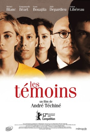 Les témoins - Canadian Movie Poster (thumbnail)