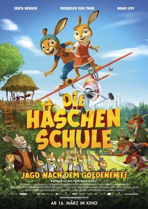 Die Häschenschule - German Movie Poster (thumbnail)