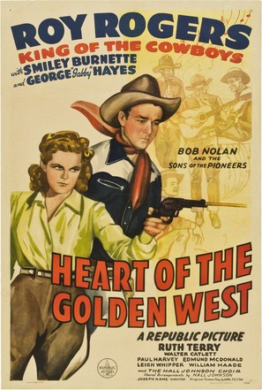 Heart of the Golden West - Movie Poster (thumbnail)
