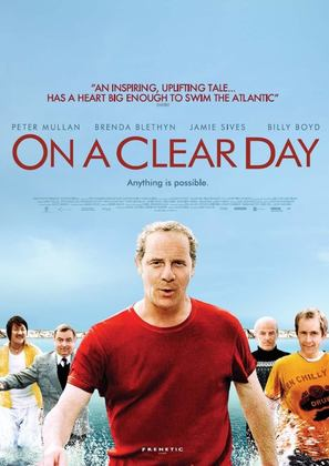 On a Clear Day - British poster (thumbnail)