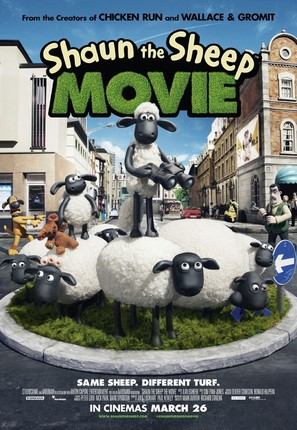 Shaun the Sheep - British Movie Poster (thumbnail)