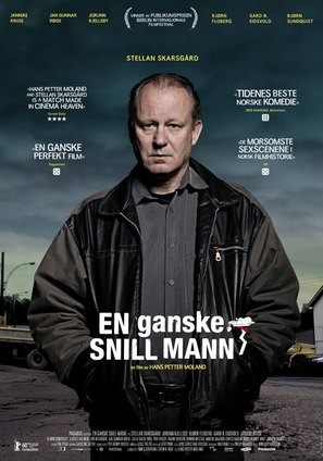 En ganske snill mann - Norwegian Movie Poster (thumbnail)