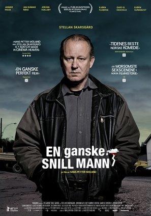 En ganske snill mann - Norwegian Movie Poster (thumbnail)