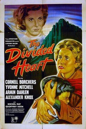 The Divided Heart - British Movie Poster (thumbnail)