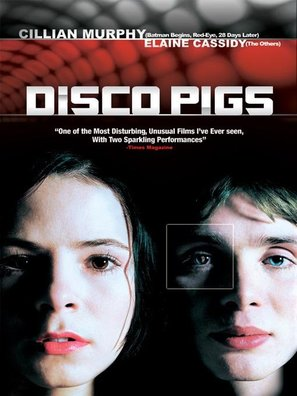 Disco Pigs - British DVD movie cover (thumbnail)