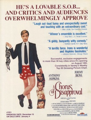 A Chorus of Disapproval - Movie Poster (thumbnail)