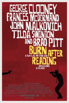 Burn After Reading - Canadian Movie Poster (thumbnail)