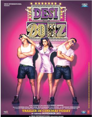 Desi Boyz - Indian Movie Poster (thumbnail)