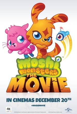 Moshi Monsters: The Movie - British Movie Poster (thumbnail)