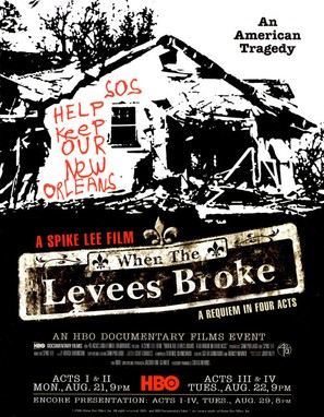 """When the Levees Broke: A Requiem in Four Acts"" - Movie Poster (thumbnail)"