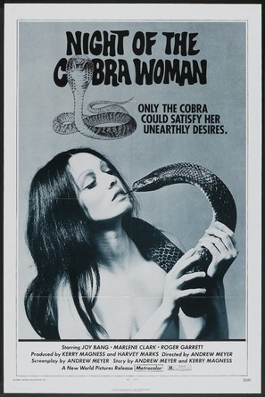 Night of the Cobra Woman - Movie Poster (thumbnail)