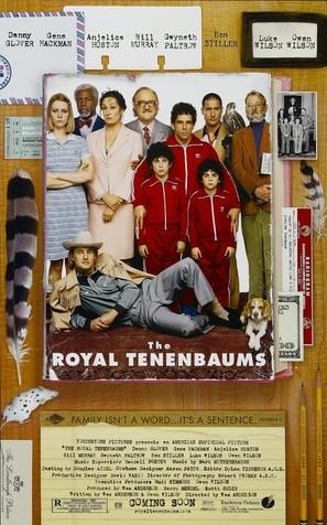 The Royal Tenenbaums - Movie Poster (thumbnail)