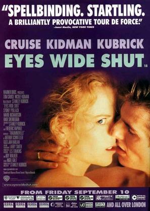 Eyes Wide Shut - British Movie Poster (thumbnail)