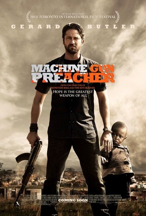 Machine Gun Preacher - Movie Poster (thumbnail)