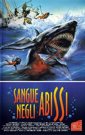 Sangue negli abissi - Italian Movie Cover (thumbnail)