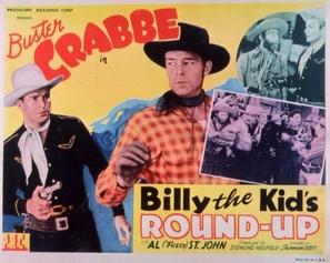 Billy the Kid's Round-up - Movie Poster (thumbnail)