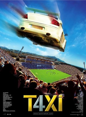 Taxi 4 - French Movie Poster (thumbnail)