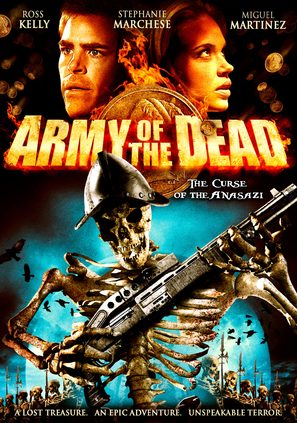 Army of the Dead - DVD movie cover (thumbnail)
