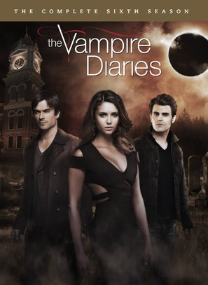 """The Vampire Diaries"" - DVD movie cover (thumbnail)"