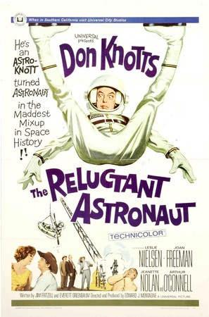 The Reluctant Astronaut - Movie Poster (thumbnail)