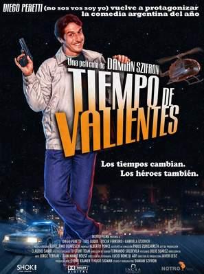Tiempo de valientes - Spanish poster (thumbnail)