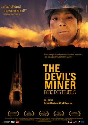 The Devil's Miner - German Movie Poster (thumbnail)