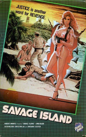 Savage Island - VHS cover (thumbnail)