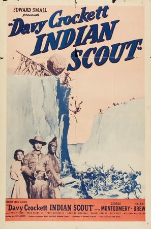 Davy Crockett, Indian Scout - Re-release poster (thumbnail)