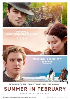Summer in February - British Movie Poster (thumbnail)