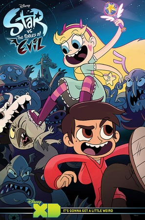 """Star vs. The Forces of Evil"" - Movie Poster (thumbnail)"