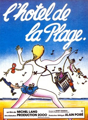 L'hôtel de la plage - French Movie Poster (thumbnail)
