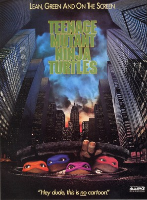 Teenage Mutant Ninja Turtles - DVD cover (thumbnail)