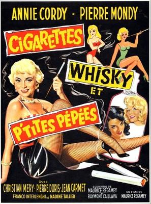 Cigarettes, whisky et petites pépées - French Movie Poster (thumbnail)