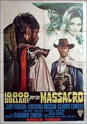 10.000 dollari per un massacro - Italian Movie Poster (thumbnail)