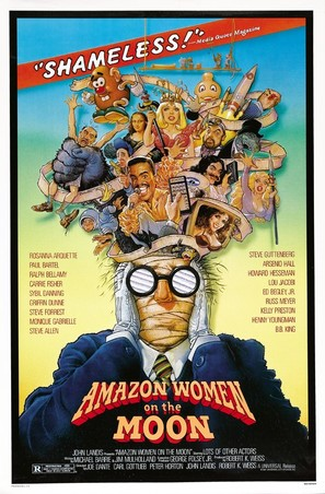 Amazon Women on the Moon - Movie Poster (thumbnail)