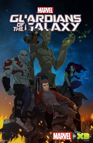 """Guardians of the Galaxy"" - Movie Poster (thumbnail)"