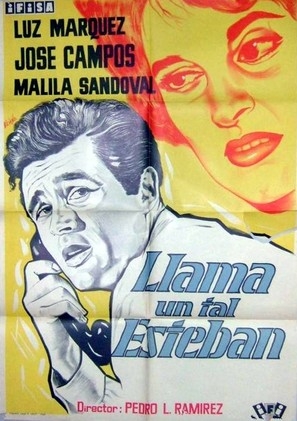 Llama un tal Esteban - Spanish Movie Poster (thumbnail)
