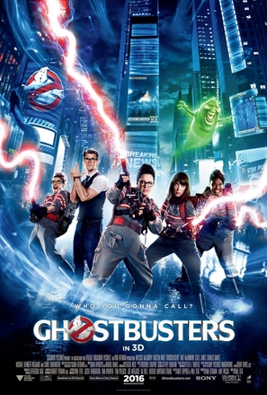Ghostbusters - Movie Poster (thumbnail)